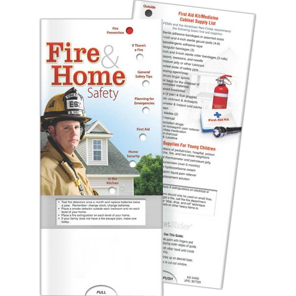 Custom Pocket Slider - Fire and Home Safety