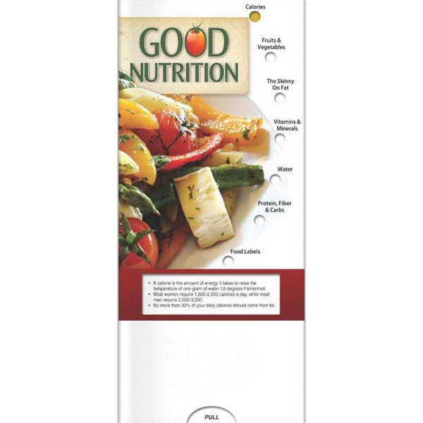 Promotional Pocket Slider - Good Nutrition