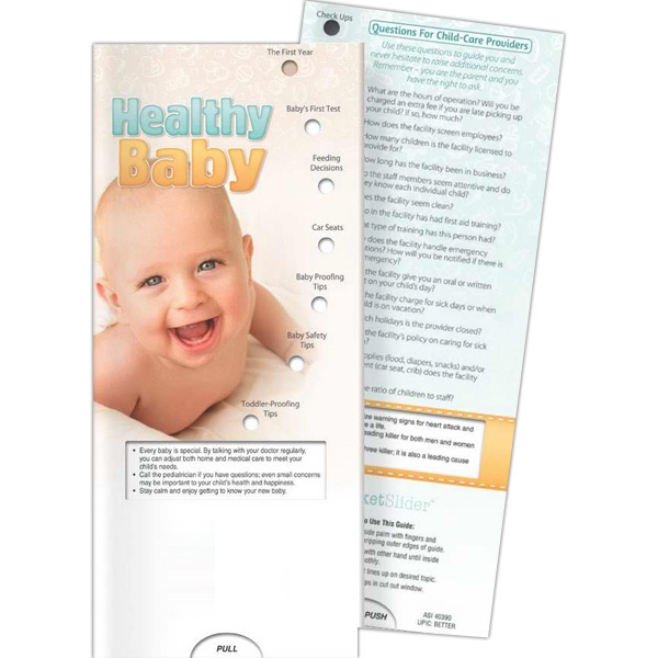 Printed Pocket Slider - Healthy Baby