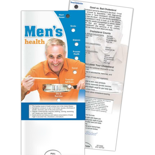 Promotional Pocket Slider - Men's Health