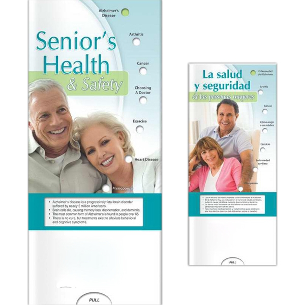 Printed Pocket Slider - Senior's Health and Safety