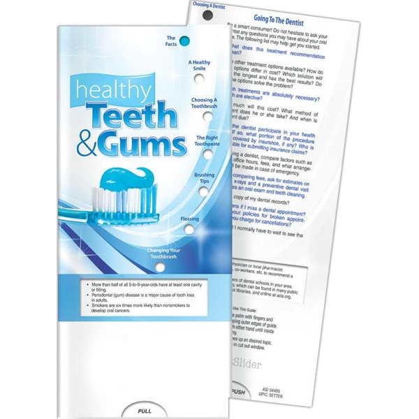 Printed Pocket Slider - Healthy Teeth and Gums