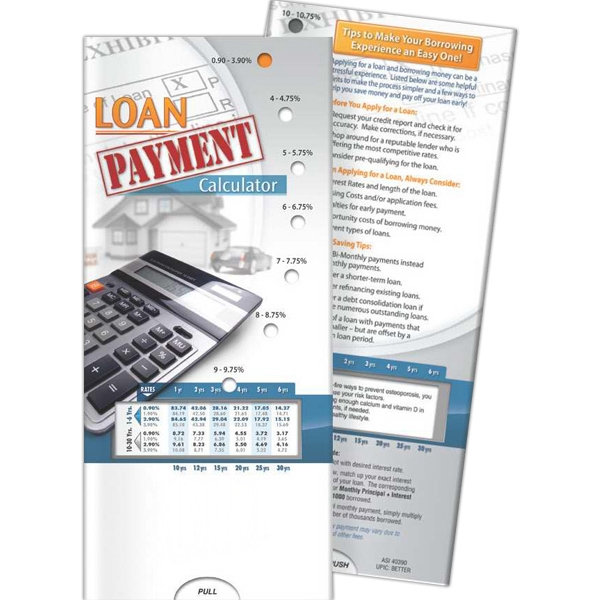 Customized Pocket Slider - Loan Payment Calculator