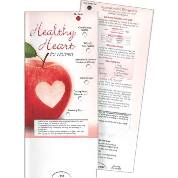 Personalized Pocket Slider - Healthy Heart for Women