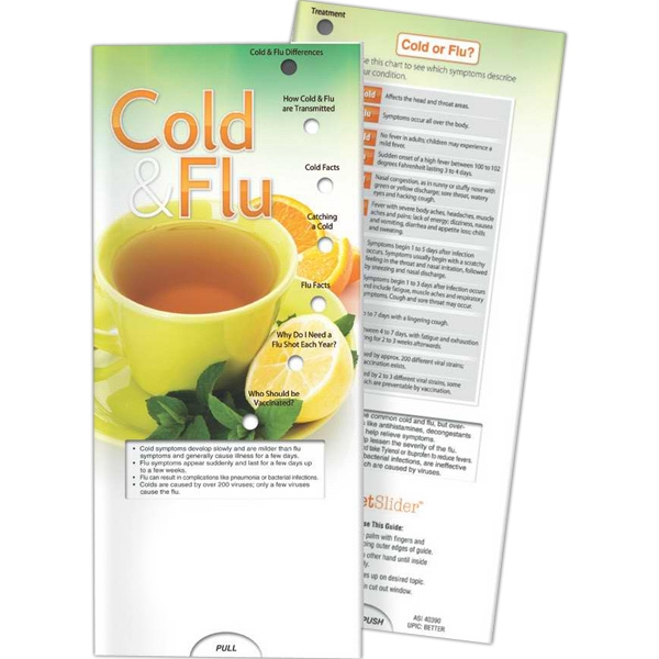 Printed Pocket Slider - Cold and Flu