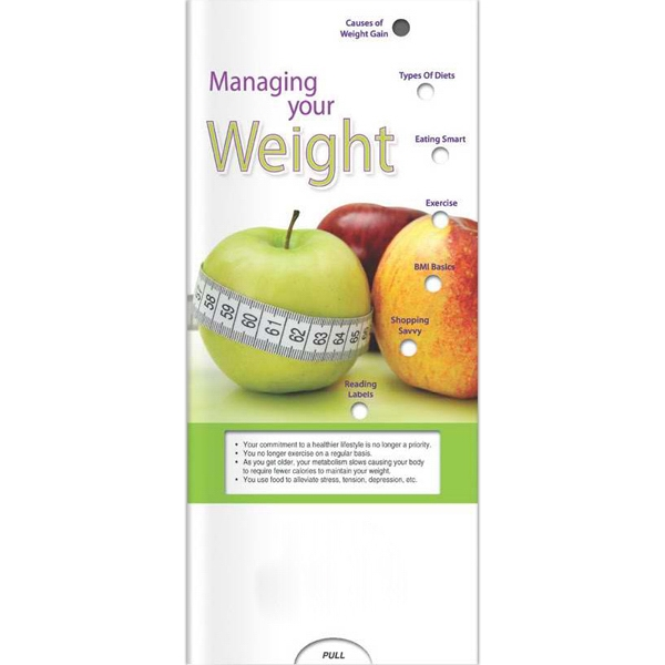 Promotional Pocket Slider - Managing Your Weight