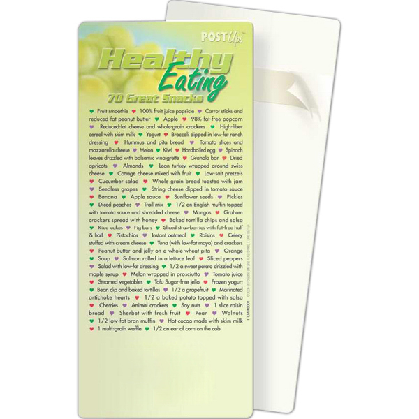 Promotional Post Ups - Healthy Eating: 70 Great Healthy Snacks