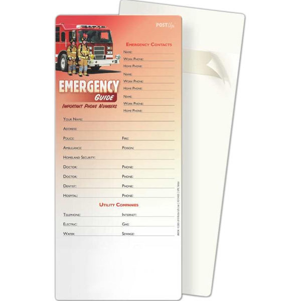 Promotional Post Ups - Emergency Guide: Important Phone Numbers