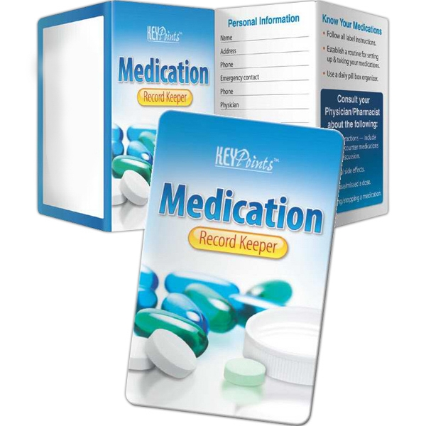 Imprinted Key Points - Medication Record Keeper