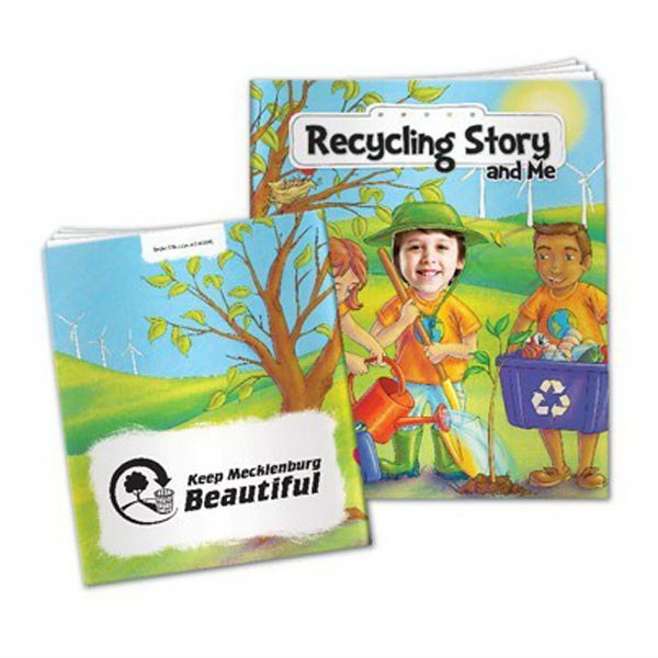Customized Recycling Story and Me - All About Me Children's Book