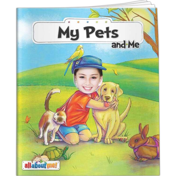 Customized All About Me - My Pets and Me