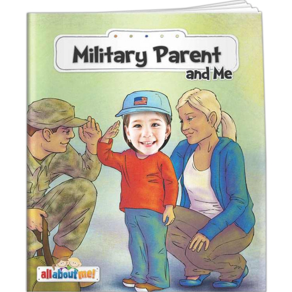 Custom All About Me - Military Parent and Me