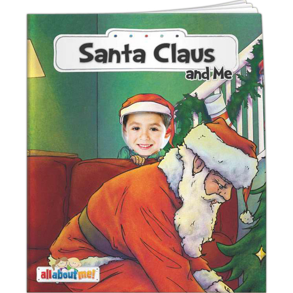 Printed All About Me - Santa and Me