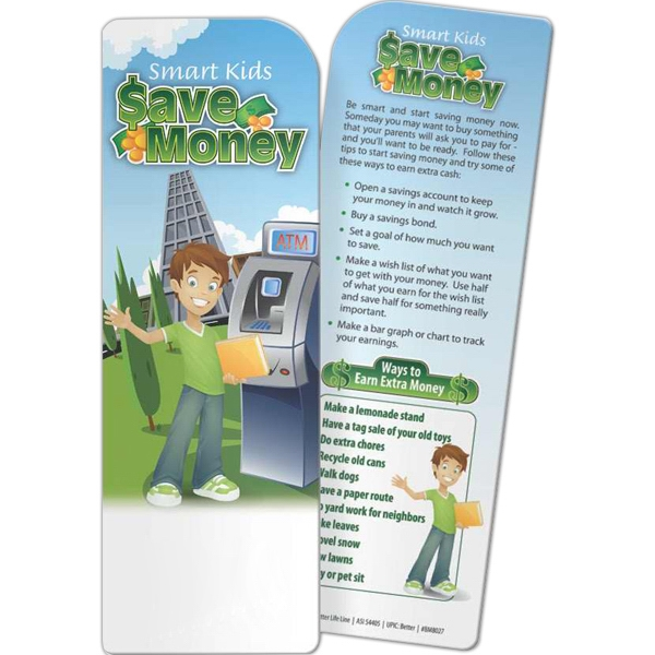 Promotional Bookmark - Smart Kids Save Money