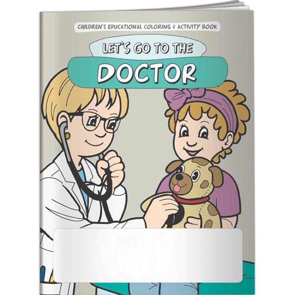 Imprinted Coloring Book - Let's Go to the Doctor