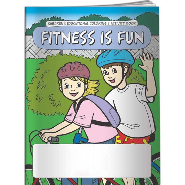 Customized Coloring Book - Fitness is Fun