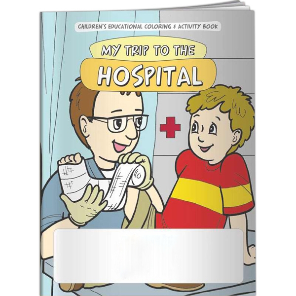 Custom Coloring Book - My Trip to the Hospital