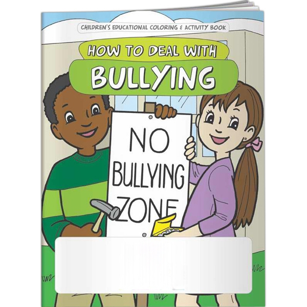 Promotional Coloring Book - How to Deal with Bullying