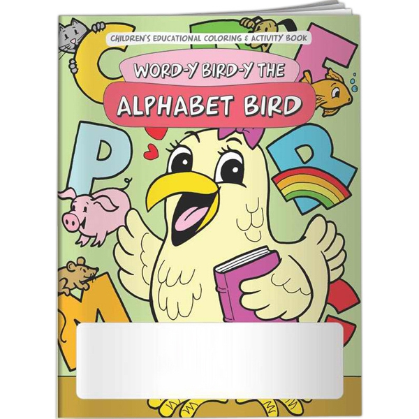Printed Coloring Book - Word-y Bird-y the Alphabet Bird