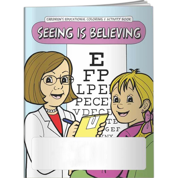Customized Coloring Book - Seeing is Believing