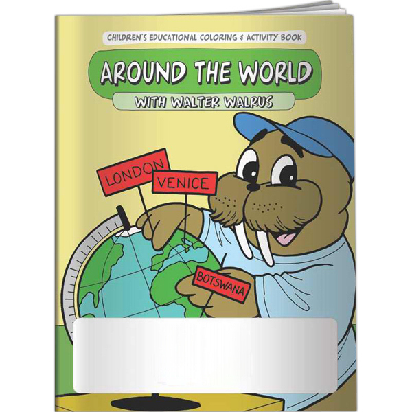Promotional Coloring Book - Around the World with Walter Walrus