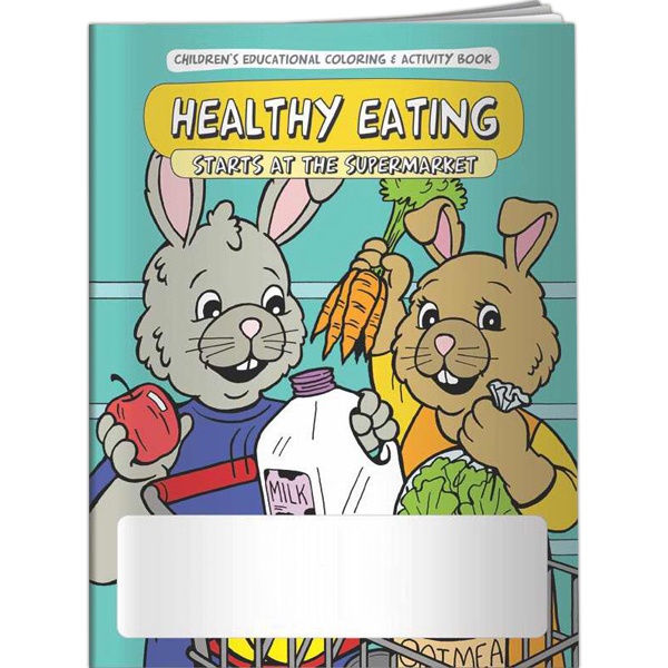 Promotional Coloring Book - Healthy Eating Starts at the Supermarket