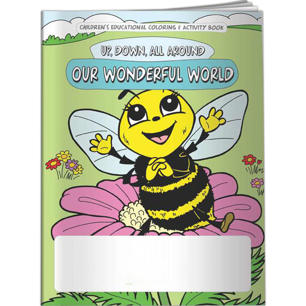 Promotional Coloring Book - Up, Down, All Around: Our Wonderful World
