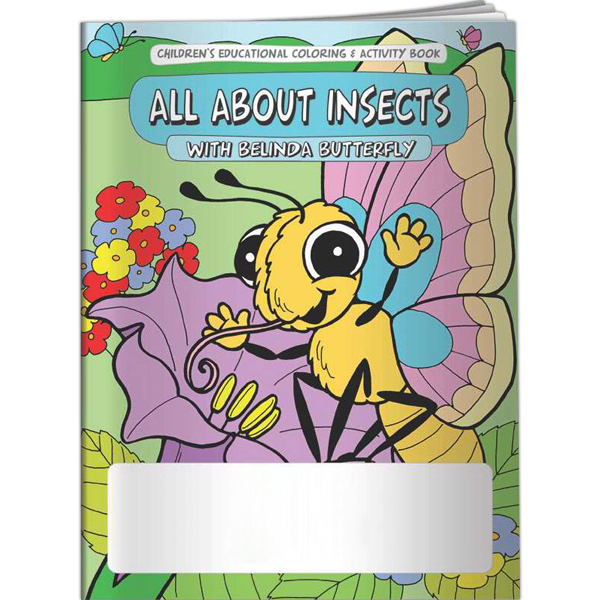 Custom Coloring Book - All About Insects with Belinda Butterfly