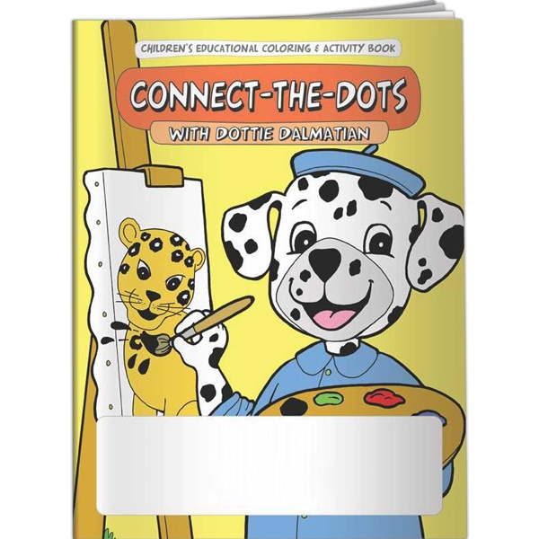 Printed Coloring Book - Connect-the-Dots with Dottie Dalmatian