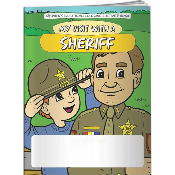 Custom Coloring Book - My Visit with a Sheriff