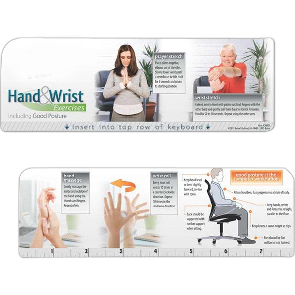 Printed Keyboard Wiz - Hand and Wrist Exercises