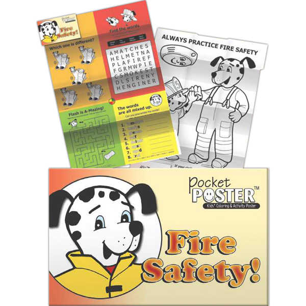 Personalized Pocket Posters - Fire Safety!