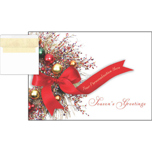 Personalized Personalized Ribbon Greeting Card