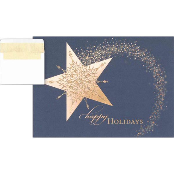Promotional Holiday Sparkle Greeting Card