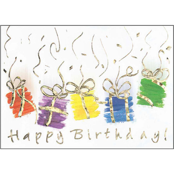 Custom Brush Strokes Greeting Card