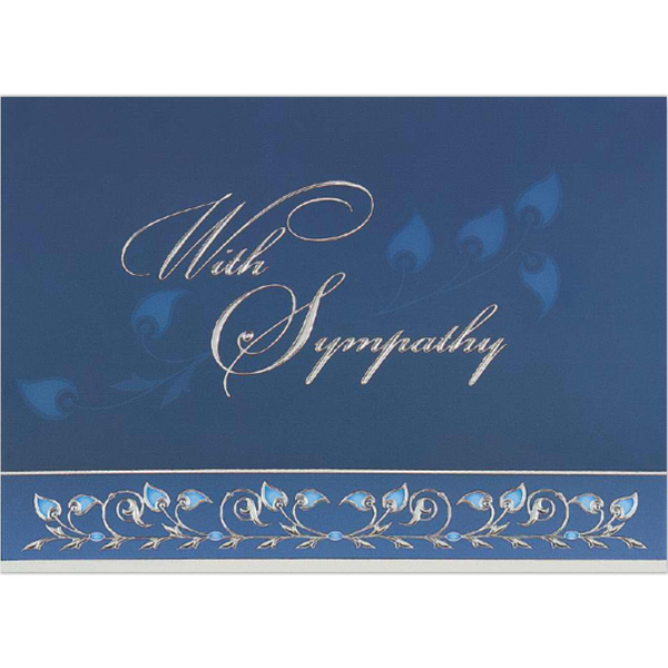 Promotional With Sympathy Greeting Card