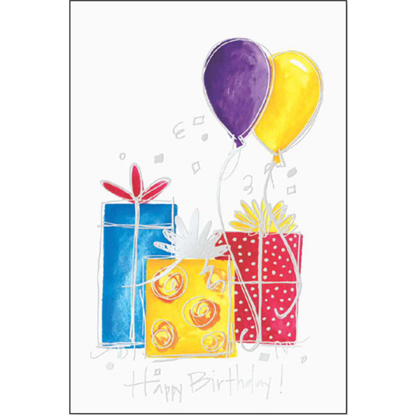 Personalized Golden Birthday Greeting Card