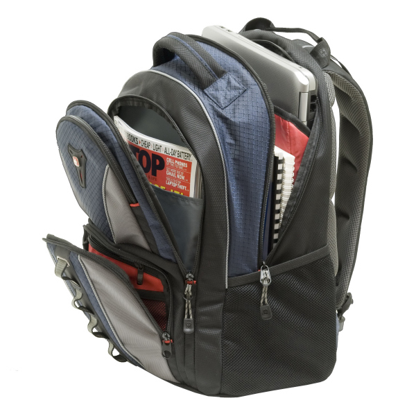 "Promotional COBALT 16"" computer backpack"