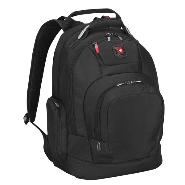 "Imprinted DIGITIZE 16"" deluxe computer backpack with tablet / eReader"