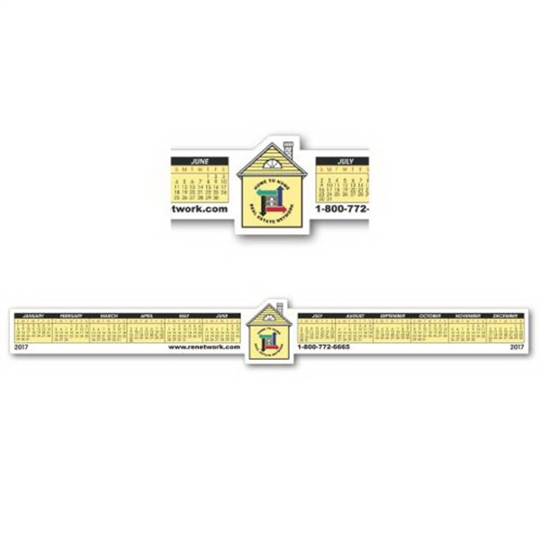 Personalized House Removable Adhesive Computer Calendar