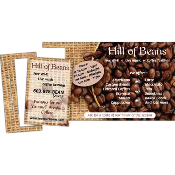 Imprinted Perf 3-1/2 x 7-1/2 Direct Mail Magnet Postcard