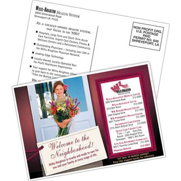 Custom 4-1/2 x 6-1/2 SuperSeal Direct Mail Postcard