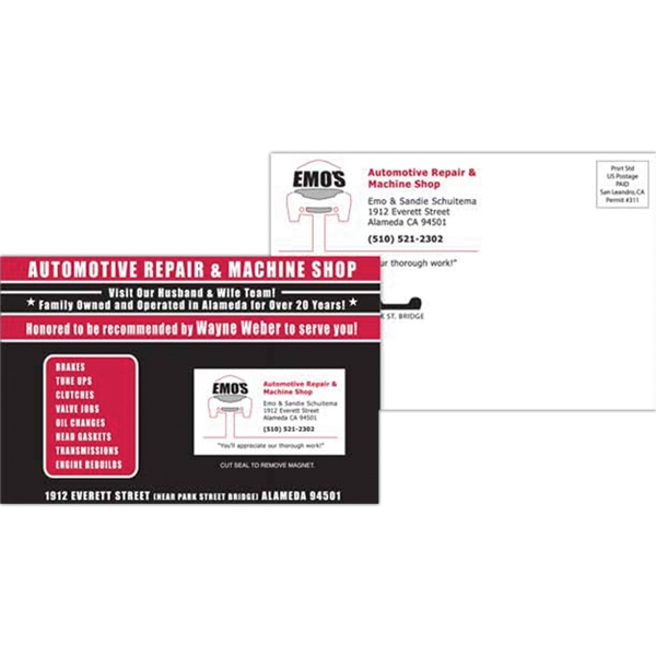 Customized 6 x 9 SuperSeal Direct Mail Postcard