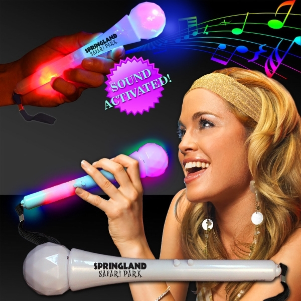 Promotional Sound Activated LED Microphones