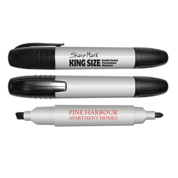 Promotional King Size Double Ended Jumbo Permanent Marker