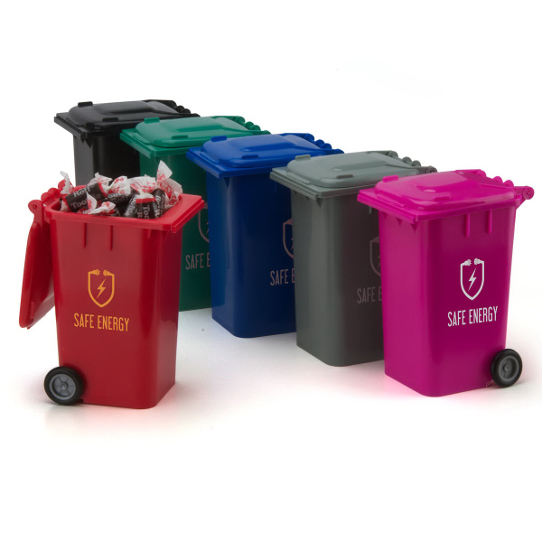 Promotional Garbage Can Candy Container