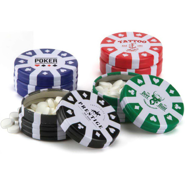 Personalized Poker Chip Container