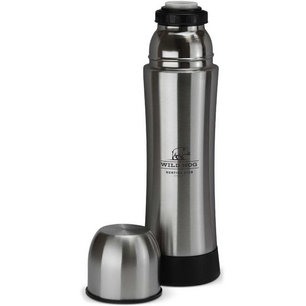 Custom 14 oz. Easy Grip Stainless Thermos