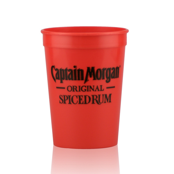 Custom 12oz Stadium Cups Red
