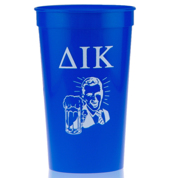 Customized 22oz Stadium Cup Blue